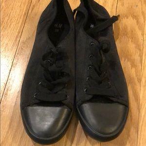 Satin Sneakers H&M